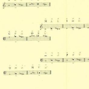 Vintage Printable - Medieval Music