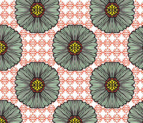 ornate fabric by jiah on Spoonflower - custom fabric