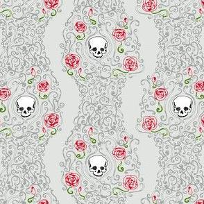 Where the Wild Roses Grow (Light Grey Small)