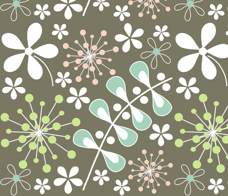 dandy fabric by emilyb123 on Spoonflower - custom fabric