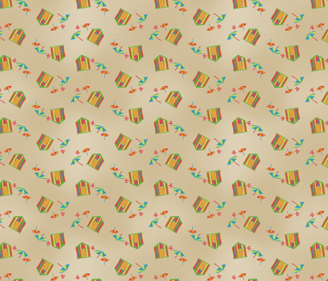 beachpatt fabric by danielbingham on Spoonflower - custom fabric