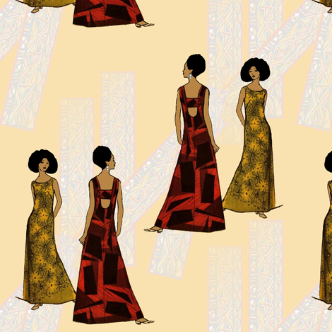 Stately fabric by nalo_hopkinson on Spoonflower - custom fabric