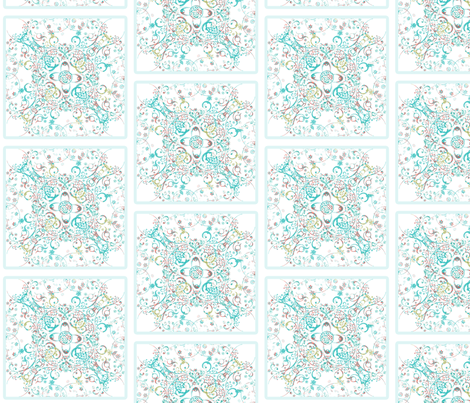 sprudla_aquatic_square fabric by snork on Spoonflower - custom fabric