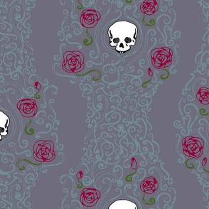 Where the Wild Roses Grow (Moody Purple)