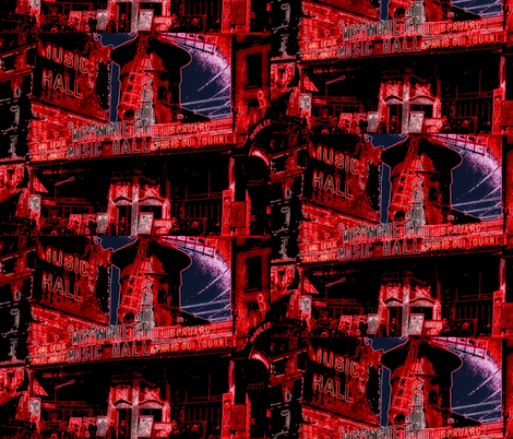 MOULIN ROUGE / WINE fabric by paragonstudios on Spoonflower - custom fabric