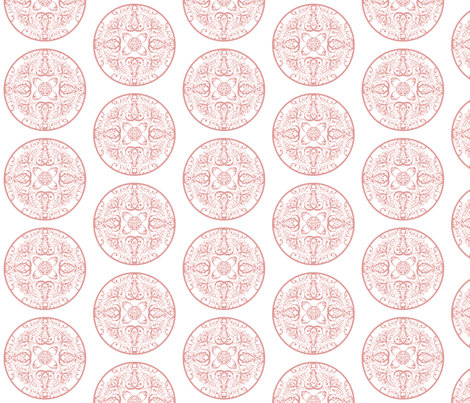 sprudla_dot_multi_pink fabric by snork on Spoonflower - custom fabric