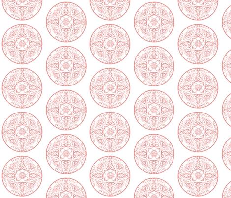 sprudla_dot_multi_pink fabric by snork on Spoonflower - custom fabric