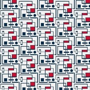 Patriotic Mondrian