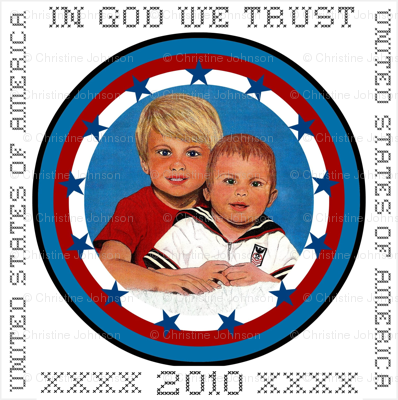 IN GOD WE TRUST 2010 *
