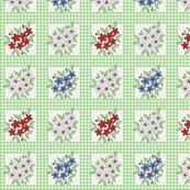 Rrrrrrrrrrframed_flowers_and_gingham_in_green_shop_thumb