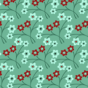 Flower Pattern 2 - Peasant Art