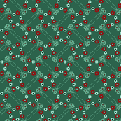 Flower Pattern 3 - Peasant Art