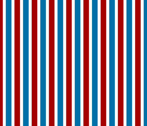R/W/B  STRIPE fabric by paragonstudios on Spoonflower - custom fabric