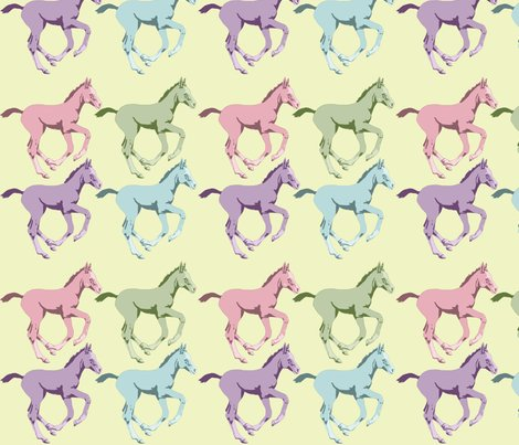 Rrcolourful_foals_on_yellow_background_shop_preview