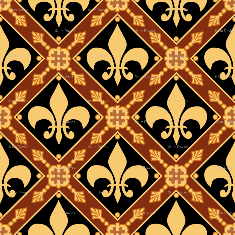 Medieval Wallpaper Designs