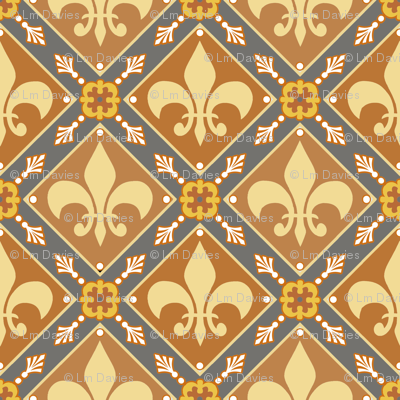 Brown Medieval Repeat