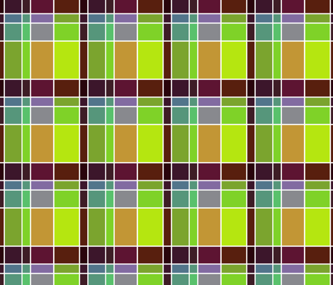 Plaid 4 fabric by chris on Spoonflower - custom fabric