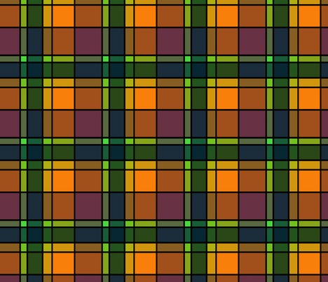 Plaid 5 fabric by chris on Spoonflower - custom fabric