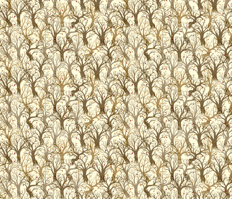 Forest fabric by raul on Spoonflower - custom fabric