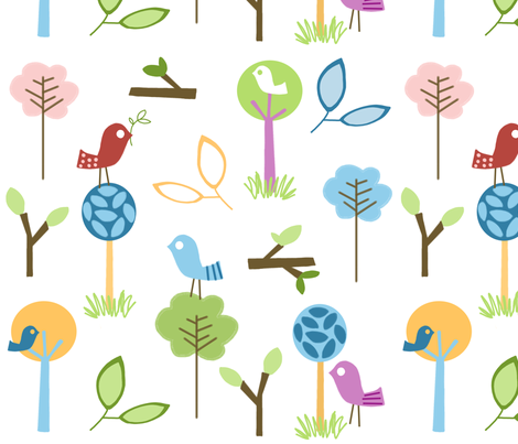 fabric_backyard_paradise 2 fabric by emilyb123 on Spoonflower - custom fabric