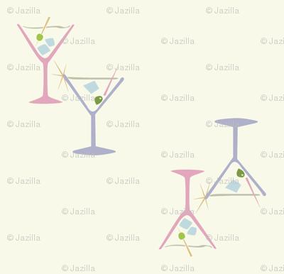 50s Martini Cocktails