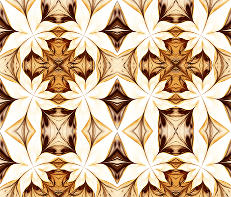Gilded Lily fabric by winter on Spoonflower - custom fabric