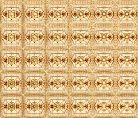 Gilded Lily Block fabric by winter on Spoonflower - custom fabric