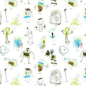 Chickadee Class Fabric!