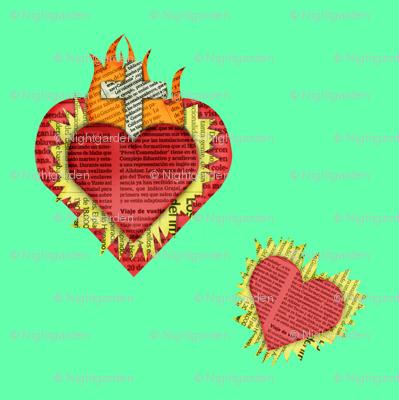 sacredhearts - turquoise