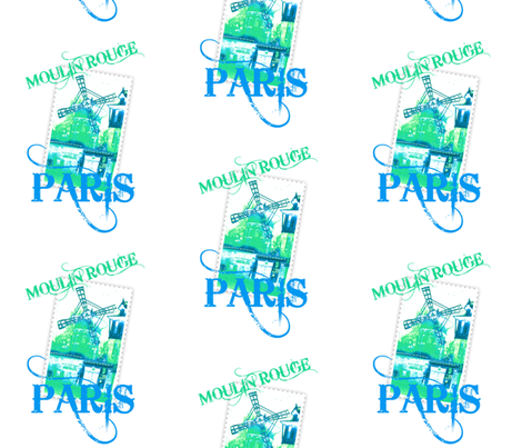 PARIS fabric by paragonstudios on Spoonflower - custom fabric