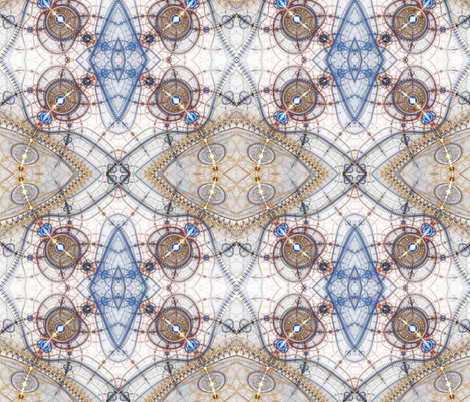 Divine Compass fabric by winter on Spoonflower - custom fabric