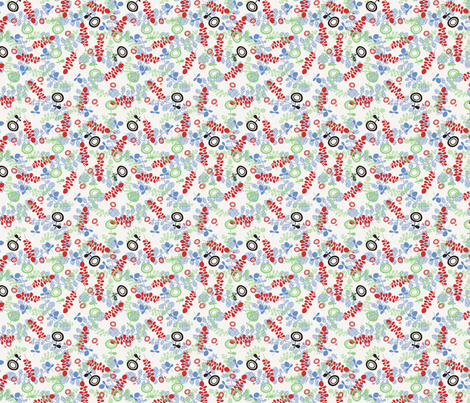 LeafyFifties fabric by thumbsuckers on Spoonflower - custom fabric