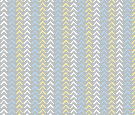 Arrow blue / Lg fabric by paragonstudios on Spoonflower - custom fabric