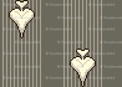Heart of Darts - Stripe