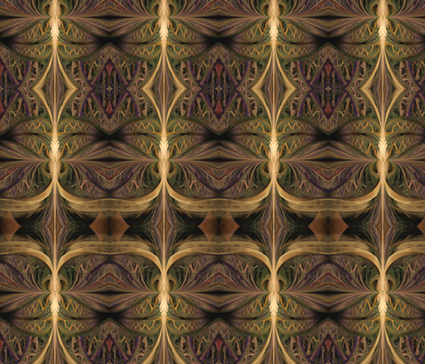 jungle tiki fabric by winter on Spoonflower - custom fabric