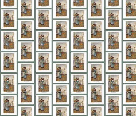 Jane Austen, Mansfield Park fabric by karenharveycox on Spoonflower - custom fabric