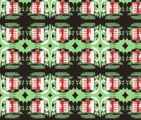 50's JukeBox fabric by twoboos on Spoonflower - custom fabric