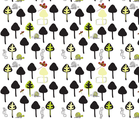 Forest Stroll fabric by sbd on Spoonflower - custom fabric