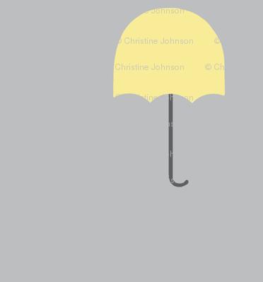 Zekie Umbrella  /buttercup