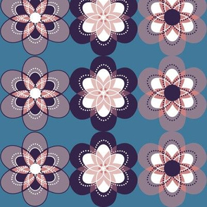 Retro-ish Flower Fun