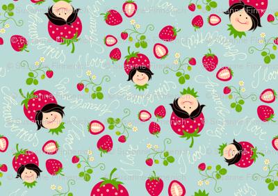 I love Strawberries