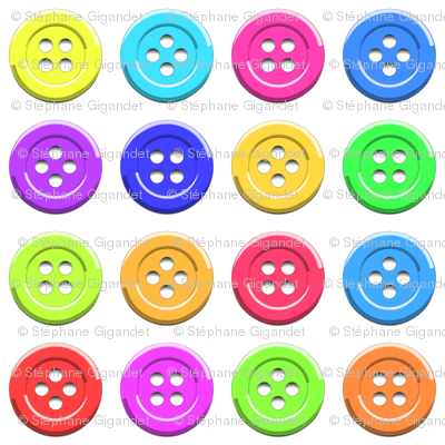 Bright Buttons