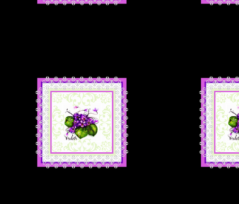 Violet Brocade  fabric by paragonstudios on Spoonflower - custom fabric