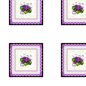 Violet Brocade