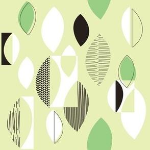 50s Fabric Green