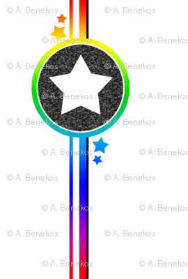 Lonely Star Rainbow