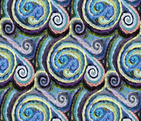 Rainy Day Reverie fabric by cricketswool on Spoonflower - custom fabric