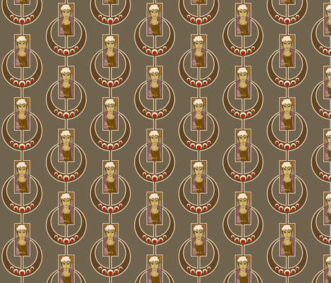 Waiteri fabric by siya on Spoonflower - custom fabric