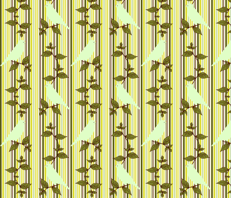 MorningSong_Stripe_Coord fabric by cksstudio80 on Spoonflower - custom fabric