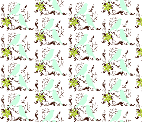 MorningSong fabric by cksstudio80 on Spoonflower - custom fabric